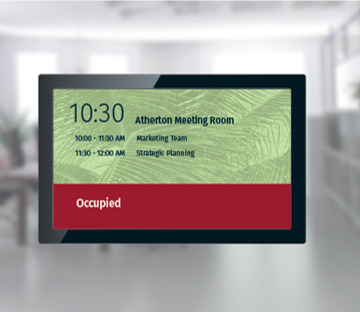 Digital signage in hospitality