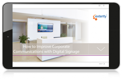 Interactive guide digital signage