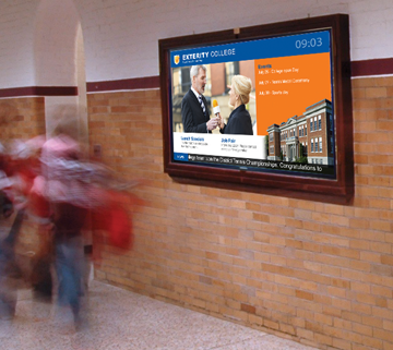 products digital signage education