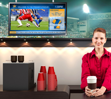 products digital signage stadium