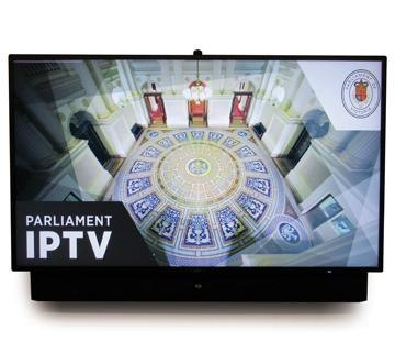 PoV TV in members offices