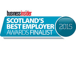 Scotland Best Employer Awards Finalist Logo